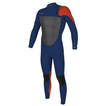 ONeill Youth Superfreak FZ 3/2 GBS Wetsuit Nvy/Neo