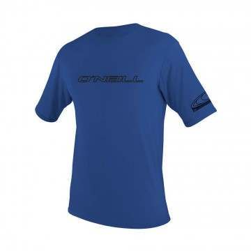 ONeill Basic Skins Short Sleeve Rash Tee Pacific