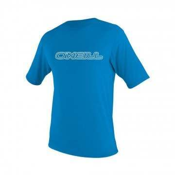 ONeill Toddler Basic Skins Rash Tee Brite Blue