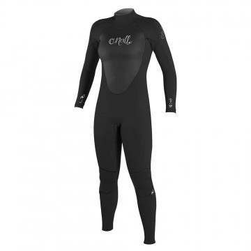 ONeill Womens Epic BZ 3/2 Wetsuit Black