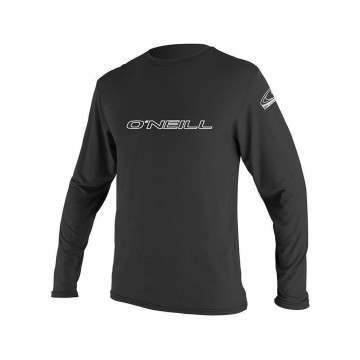 ONeill Basic Skins Long Sleeve Rash Tee Black