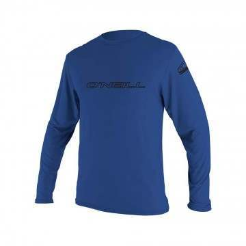 ONeill Basic Skins Long Sleeve Rash Tee Pacific