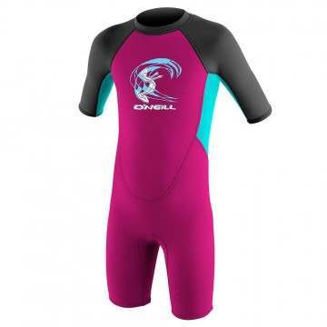 ONeill Toddler Reactor 2 2MM Shorty Wetsuit Berry