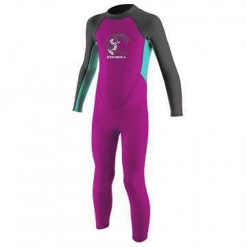 ONeill Toddler Reactor 2MM Full Wetsuit Berry