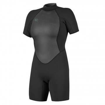 ONeill Womens Reactor 2 2MM Shorty Wetsuit Black