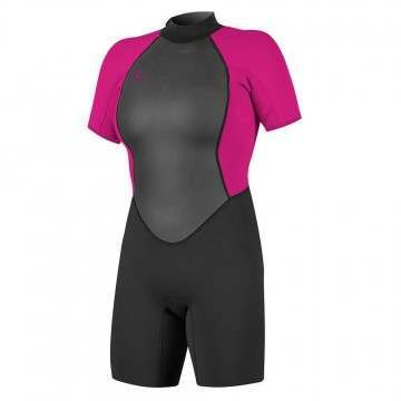 ONeill Womens Reactor 2 2MM Shorty Wetsuit Berry