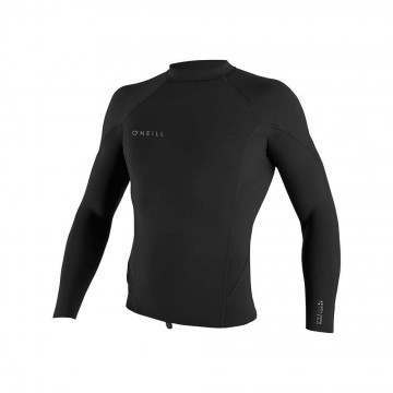 ONeill Reactor 2 1.5MM Long Sleeve Wetsuit Top Black