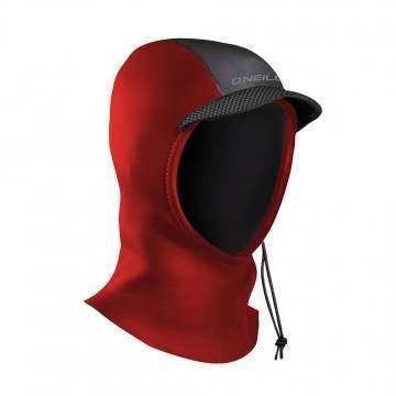 ONeill Youth Psycho 3MM Wetsuit Hood Red