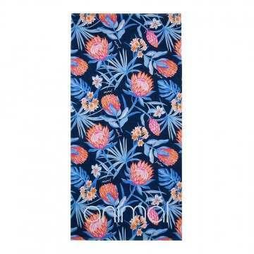 Animal Sunsoak Beach Towel Blueberry Blue
