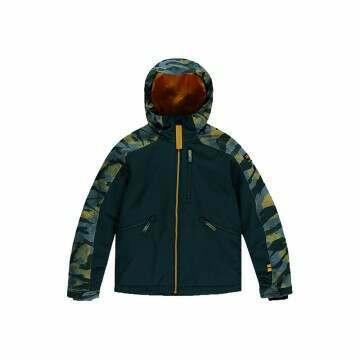 ONeill Boys Diabase Snow Jacket Green AOP