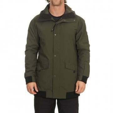 Oneill Decode Bomber Snow Jacket Forest Night