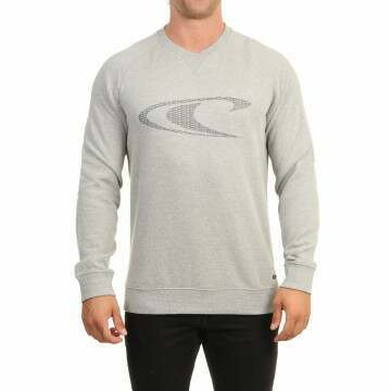 ONeill CLR Grindle Crew Sweatshirt Silver Melee