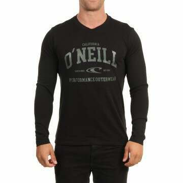ONeill Uni Outdoor Long Sleeve Top Black Out