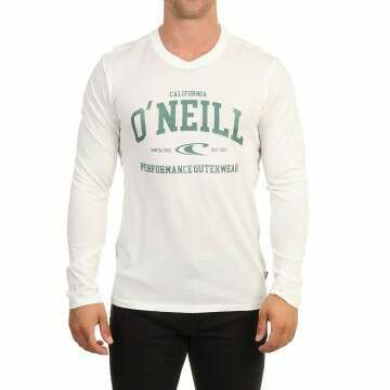 ONeill Uni Outdoor Long Sleeve Top Powder White