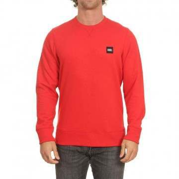 Oneill Essential Crew Plaid Red