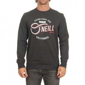 Oneill Mugu Cali Crew Dark Grey Melee