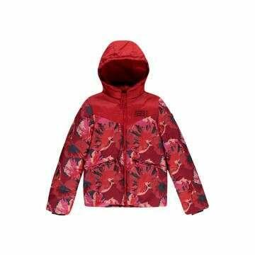 ONeill Girls Valerite Snow Jacket Fiery Red