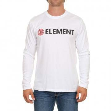 Element Blazin Long Sleeve Top Optic White