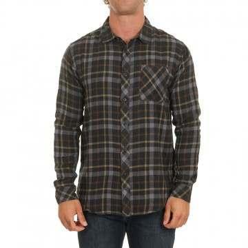 Billabong Fremont Flannel Shirt Black