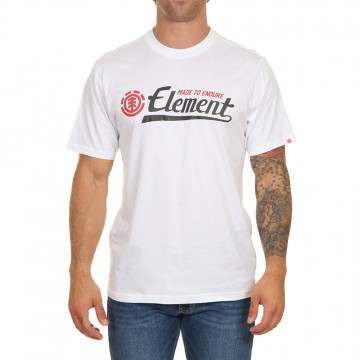 Element Signature Tee Optic White