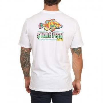Element Stale Fish Tee Optic White