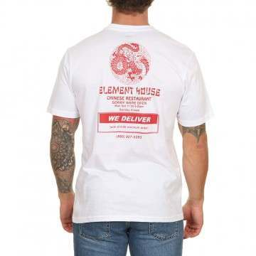 Element Delivery Tee Optic White