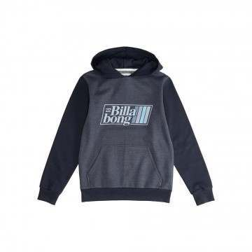 Billabong Boys Super 8 Hoody Navy Heather