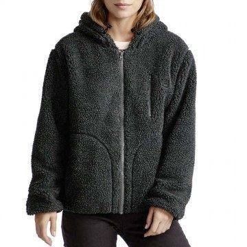 Billabong Switchback Fleece Jacket Charcoal