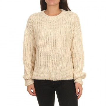 Billabong Pretty Cozy Jumper Antique White