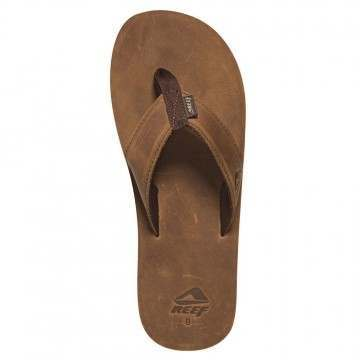 Reef Leather Smoothy Bronze Brown