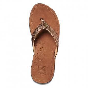 Reef Miss J-Bay Sandals Copper Snake