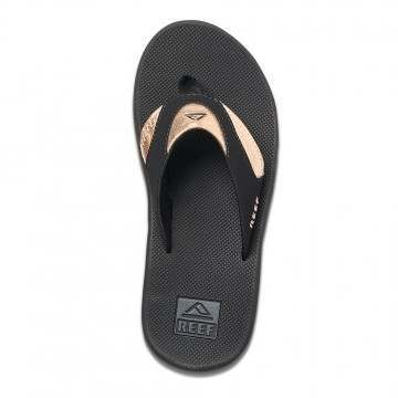 Reef Fanning Sandals Black/Rose Gold