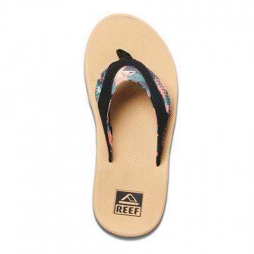 Reef Fanning Sandals Hibiscus