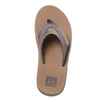Reef Fanning Sandals Pewter