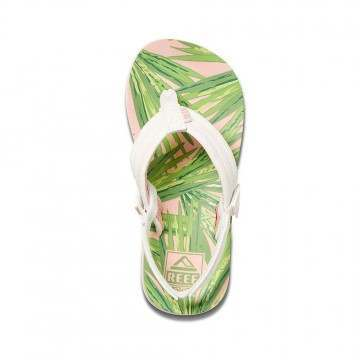 Reef Infant Girls Little Ahi Sandals Palms
