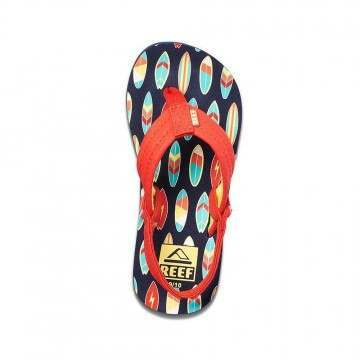 Reef Infant Boys Little Ahi Sandals Red Surf