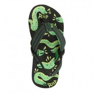 Reef Boys Ahi Glow Sandals Grey Eel