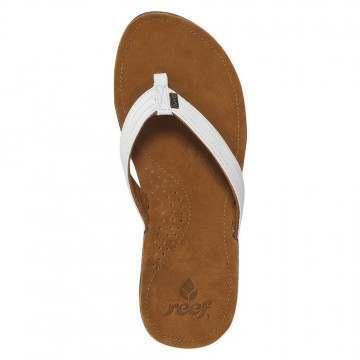 Reef Miss J-Bay Sandals Tan/White