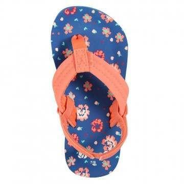 Reef Girls Little Ahi Sandals Blue Floral