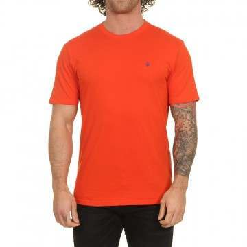 Volcom Stone Blanks Tee Pepper Red