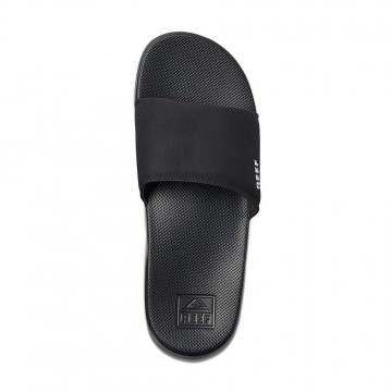 Reef One Slide Sandals Black