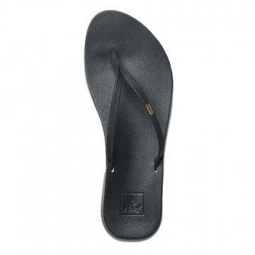 Reef Cushion Bounce Slim Sandals Black