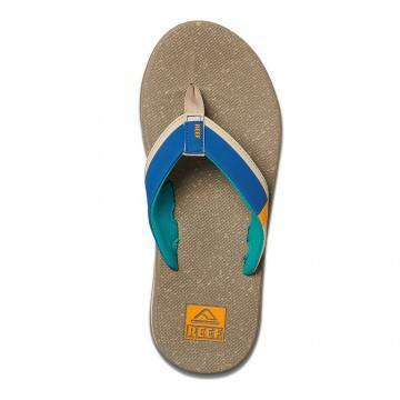 Reef Fanning Low Sandals Tan/Blue