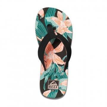 Reef Girls Ahi Sandals Hibiscus
