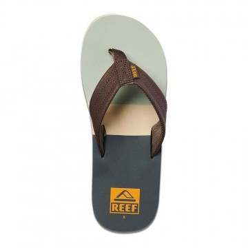 Reef Tri-Waters Sandals Grey/Green