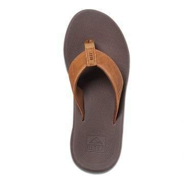 Reef Leather Phantom II Sandals Bronze