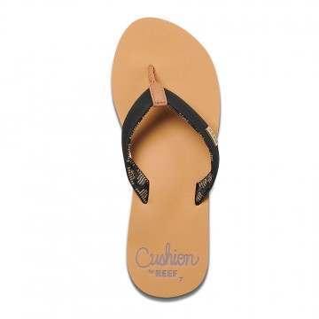 Reef Cushion Sands Sandals Black/Tan