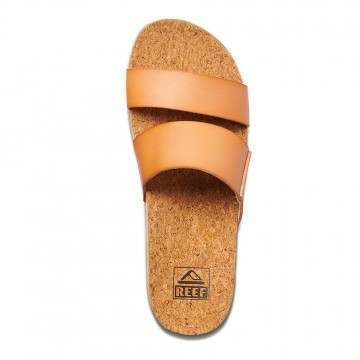 Reef Cushion Bounce Vista Hi Sandals Natural