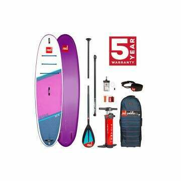 Red Paddle Ride 10ft 6 Inflatable Paddleboard Purple