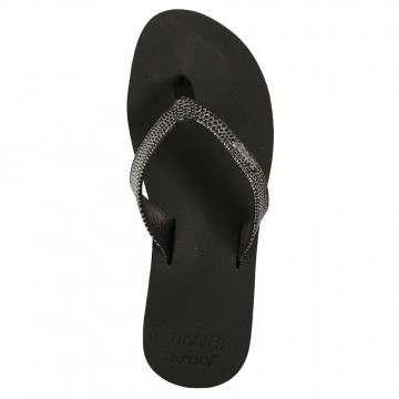 Reef Star Cushion Sassy Sandals Black/Silver
